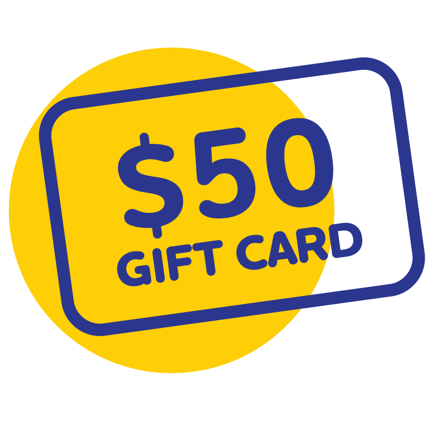 LPE 50 Gift Card Icon Yellow png