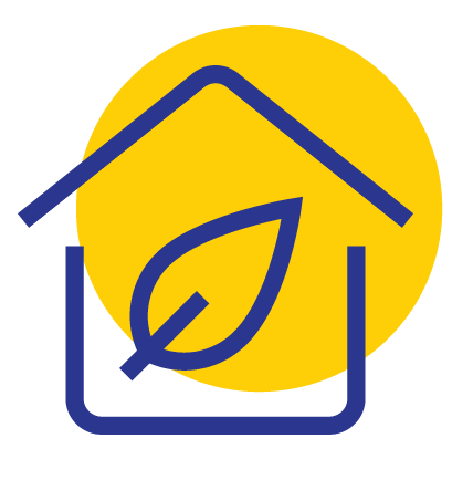LPE House Icon Yellow