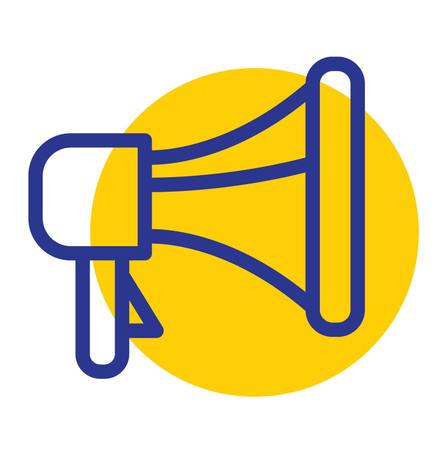 LPE Marketing Icon Yellow png